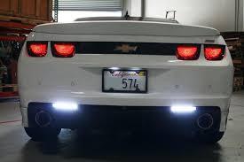 led bumper backup lights camaro back up reverse led lights 01 9600 50l by delta for years