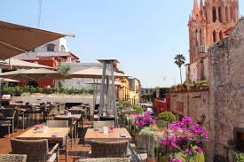 the best view in san miguel de allende the rooftop at quince la
