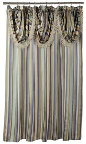 designer shower curtains with valance including gallery fabric