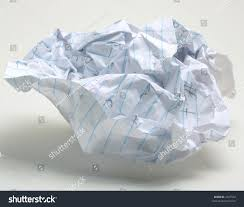 paper with writing on it crumpled note paper foolscap writing on stock photo 2647542 crumpled note paper foolscap with writing on it on white