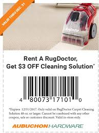 The Rug Doctor Coupons Aubuchon Hardware Winter Color Sample Coupon
