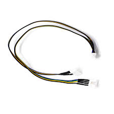 cpu fan 4 pin to 3 pin 4 pin extension power splitter cable for pc dc cpu fan