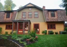 early 20th century historic house colors