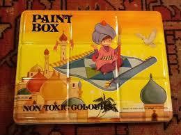 93 best vintage tin toy paint boxes images on pinterest vintage