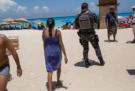 houston to cancun from cancun to los cabos tourists scared off mexico u0027s beaches