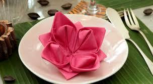 Serviette En Papier Fleur by Pliage De Serviette De Papier Le Lotus Prima