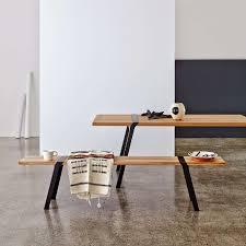 pi table l180 cm l88 cm solid oak wood and steel