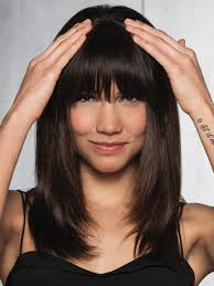 clip in fringe clip in human hair fringe by hairdo hair extensions