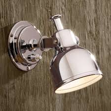 Wall Mounted Bedroom Reading Lights Uk Cabin Light 12v Chrome Plated Nautic By Tekna Classic Lighting