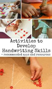 Preschool Writing Paper Template 288 Best Writing Skills For Preschool Images On Pinterest