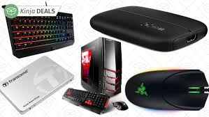 amazon black friday deals discussion amazon built a black friday gold box just for pc gamers