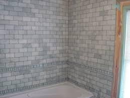 drennon u0027s custom tile natural stone bathroom