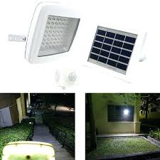 wireless led outdoor flood lights solar powered security light with motion sensor guardian solar
