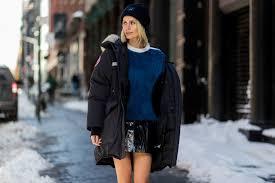 fashion louis vuitton fuzzy knit u0026 leather skirt