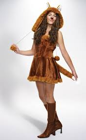 Womens Fox Halloween Costume Lady Fox Costume Womens Halloween Costumes Savers