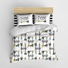 Personalized Comforter Set Tribal Arrows Kids Bedding Personalized Bedding Set Crib