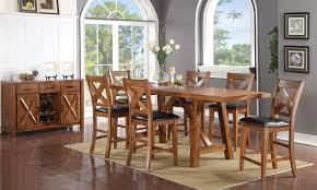 counter height dining room sets burnished mango counter height dining set haynes furniture