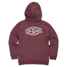 boys original lockup zip hoodie shop boys sweatshirts at vans