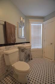 Craftsman Style Bathroom Fixtures Retro Craftsman Style Subway Bathroom