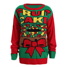 fruit cake pattern plus size sweater in and green