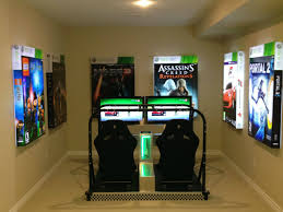 Nerdy Home Decor by Gaming Room Gamer Decor Simple Gaming Setup Gaming Setup Ideas