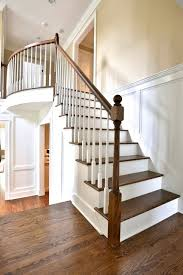 Updating Wood Paneling Open Stairs With Custom Wood Paneling Traditional Staircase