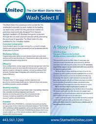 wash select ii