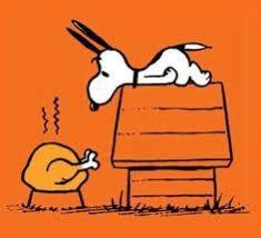woodstock turkey snoopy peanuts thanksgiving