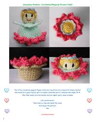 amigurumi pattern pdf free grandma perkins magical flower child crochet pattern look at what