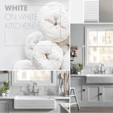 White On White Furniture White On White Kitchen Kohler