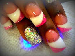 how to 3 colors solar nails youtube