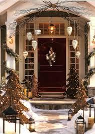front doors front door front porch christmas decorations