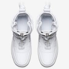 color white nike sf af1 white collection coming in november sneakernews com