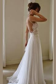 Cheap Wedding Dress Sweetheart Spaghetti Appliques Cheap Wedding Gowns Backless Beach