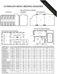 New Floor Plan New Orleans Meeting Space Floor Plans Le Pavillon Hotel