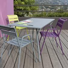table de jardin fermob soldes table de jardin fermob monceau rectangulaire gris orage 6