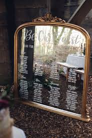beauty and the beast wedding table decorations mirror calligraphy seating plan table chart beauty and the beast