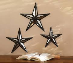 Stars Home Decor by Best Rustic Metal Star Wall Decor Photos Home Design Ideas