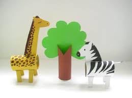 bored at home create your own zoo toilet paper roll giraffe and zebra from make your own zoo craft