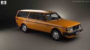 volvo station wagon volvo 245 wagon 1975 by 3d model store humster3d com youtube