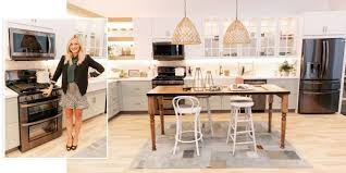 lg black stainless steel series emily henderson talks kitchen decor