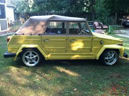 volkswagen type 6 1973 vw thing type 181 daily driver