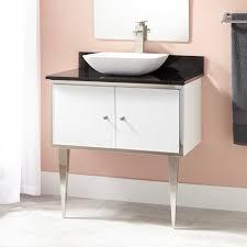 Stainless Bathroom Vanity by Stainless Steel Bathroom Vanities Legs European Contemporary