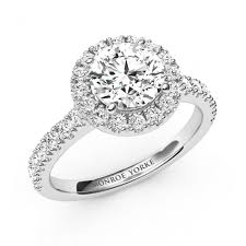 daimond ring bloom stunning halo diamond ring with a certified diamond