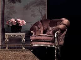 Armchair Velvet Velvet Armchair Finish In Silver For Luxury Living Room Idfdesign