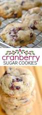 frosted cranberry drop cookies recipe drop cookie recipes