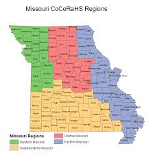 missouri map columbia cocorahs community collaborative hail snow network