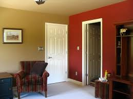 painting living room walls two colors makipera homes design