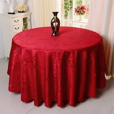 Fitted Round Tablecloth Online Get Cheap Red Round Tablecloth Aliexpress Com Alibaba Group