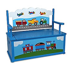 Kids Bench With Storage Toy Chests Buybuy Baby